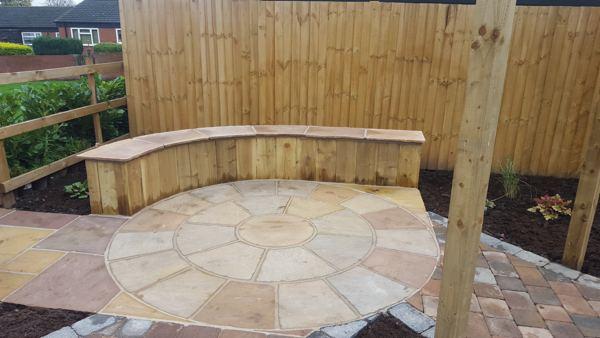 Sleeper Walls for Gardens Nottingham